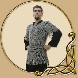 LARP Chainmail - David Chainmail Short Sleeves 9mm